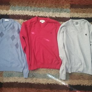 3LOT SWEATERS XL